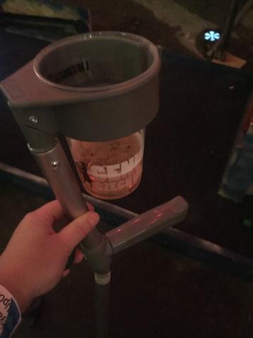 beerholder crutch